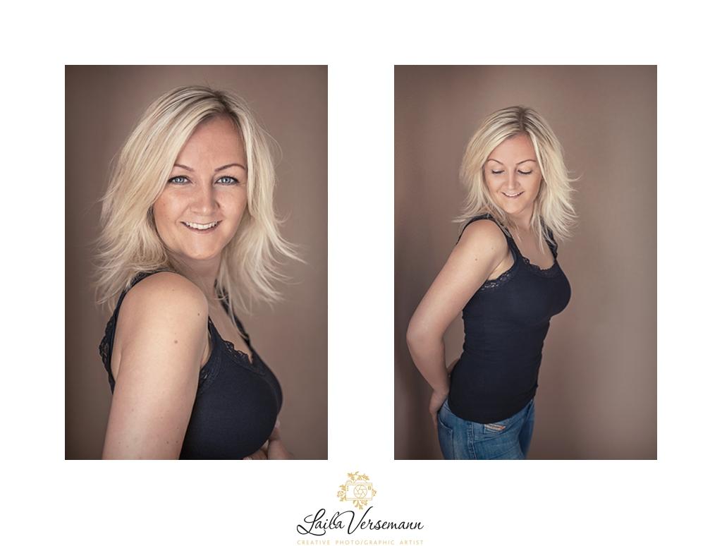 Posering gør enhver kvinde smukkere