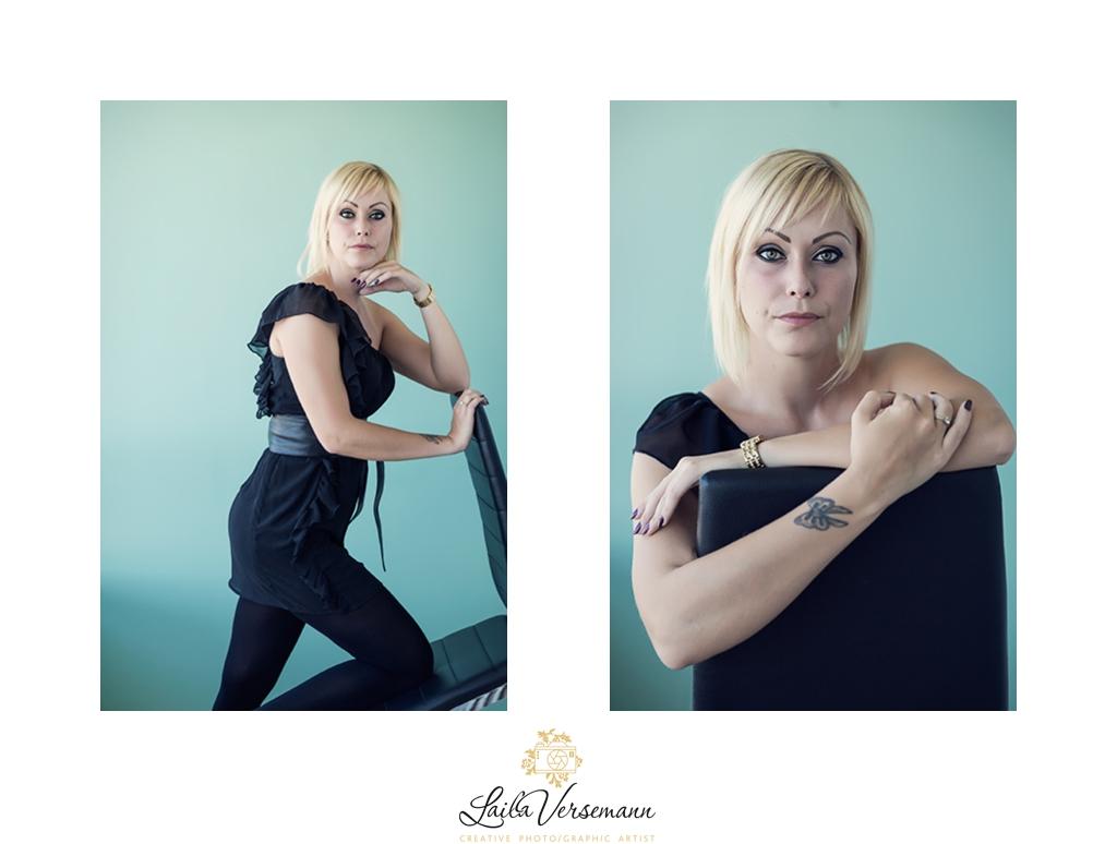 Kvindefotografen tilbyder også erhvervsportrætter