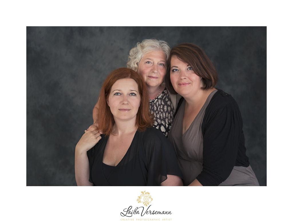 Mor og datter portrætter er populære hos din kvindefotograf