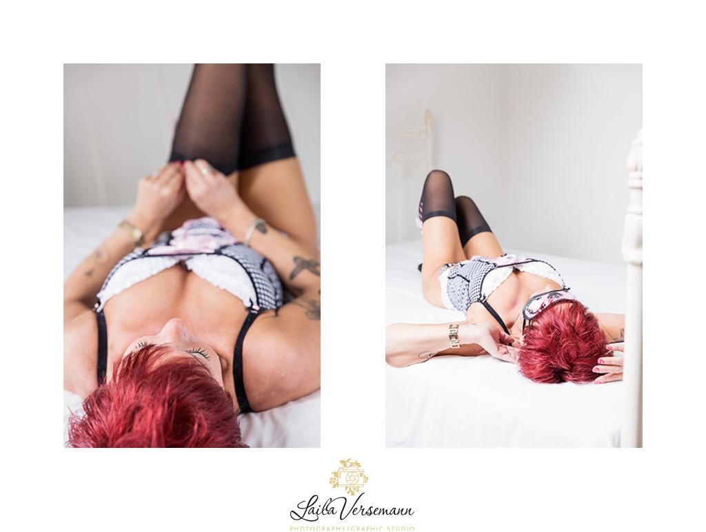 Din boudoir fotograf lader dig være dig selv