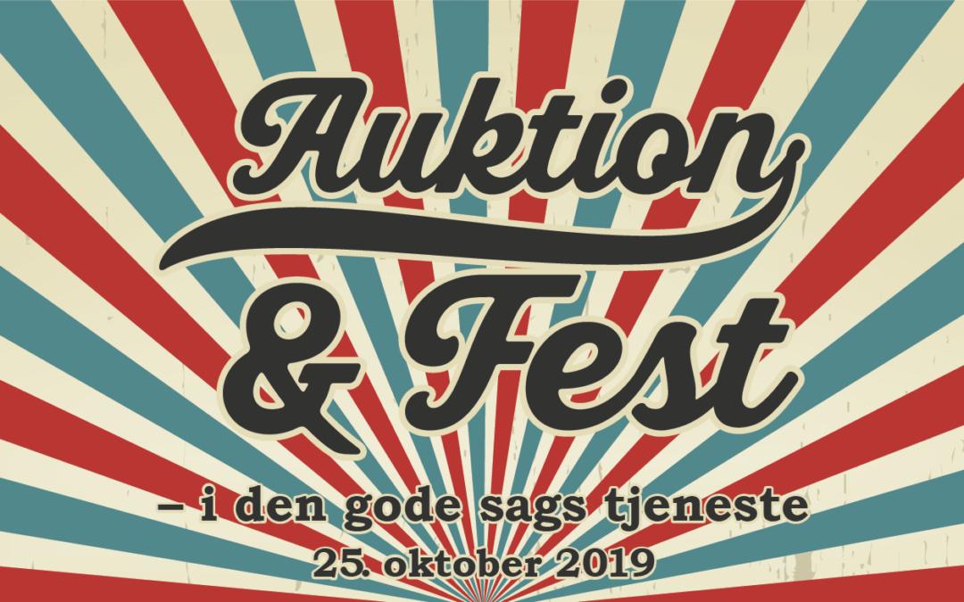Auktion og Fest 2019